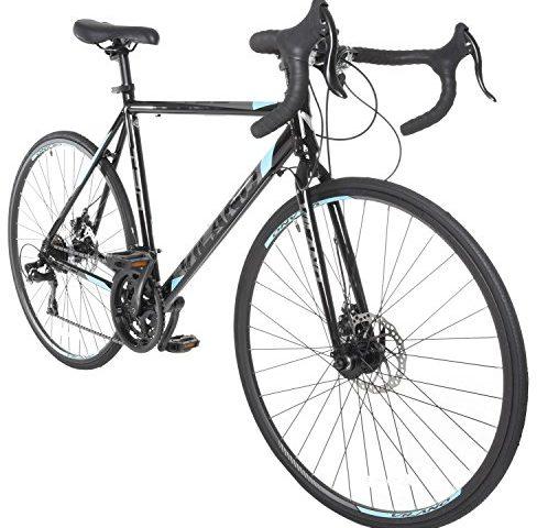 cbb0bd5055b Vilano Tuono 2.0 Aluminum Road Bike Shimano 21 Speed Disc Brakes, 700c